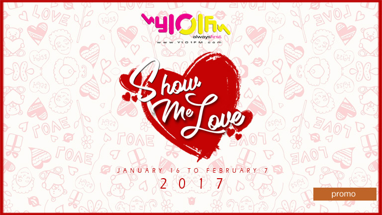 The Y101 Show Me Love Weekly Winners