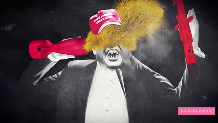 Green Day releases new lyric video; anti-Trump 'Troubled Times'