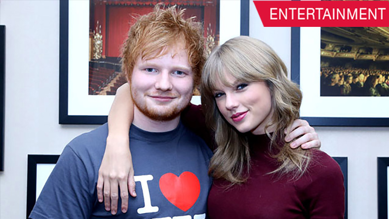 Taylor Swift's tribute to Ed Sheeran for TIME's 'Most Influential People