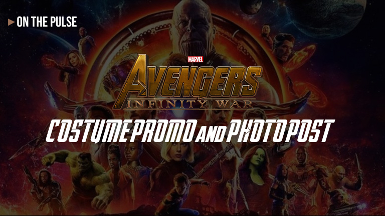Avengers: Infinity War COSTUME PROMO and ONLINE PHOTO POST