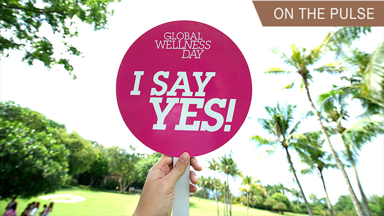 Shangri-la Mactan's celebration of Global Wellness Day