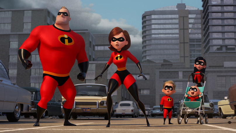 The Incredibles 2: The Parrs are back