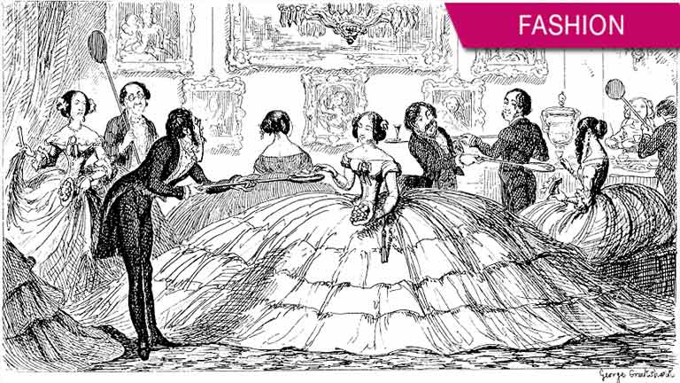 Why women stopped wearing the Crinoline (hoop skirt) centuries ago