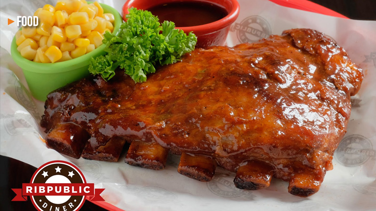 Ribpublic Diner offers some of the best ribs in town!