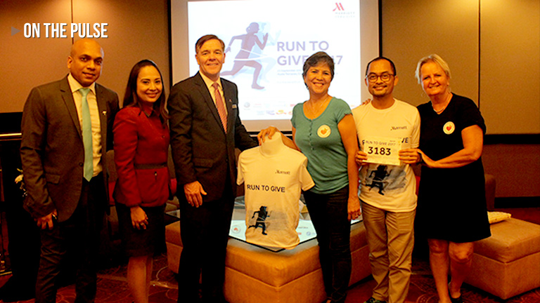 Run to Give Cebu City Marriott Hotel