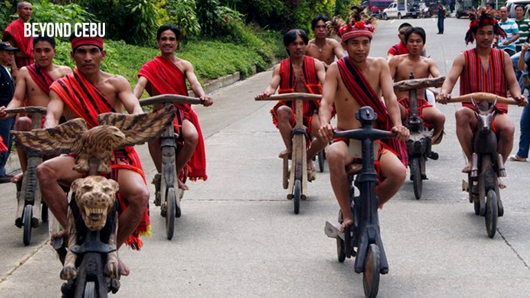 These handcarved wooden scooters from Ifugao is what we all need to have fun