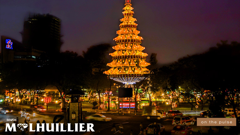 giant christmas tree at fuente circle - Giant Christmas Tree