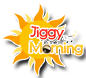 jiggy in the morning logo drop shadow