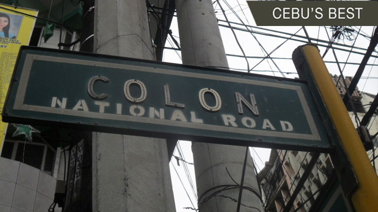 What is 'Colon' in Colon Street named after?