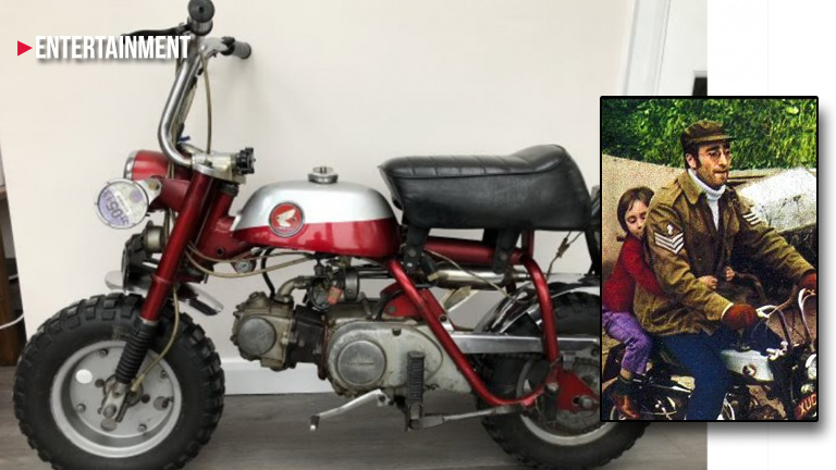 John Lennon monkey bike for sale