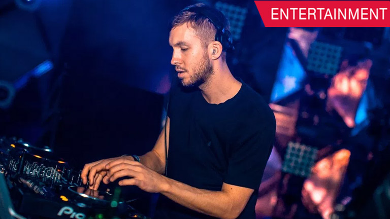 Watch how Calvin Harris create the music for 'Slide' on his computer