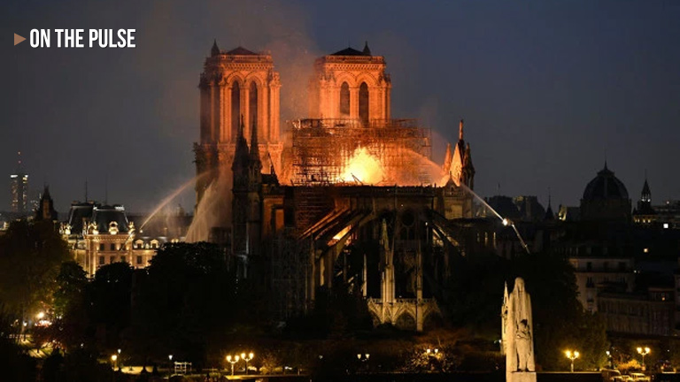 Notre Dame Cathedral fire cause