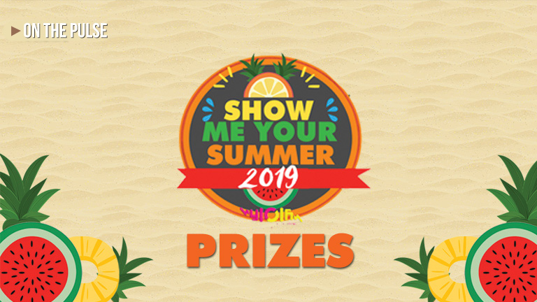 Show Me Your Summer 2019 prizes