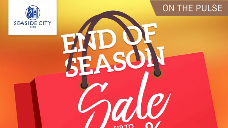 End of Season Sale at SM Seaside City Cebu