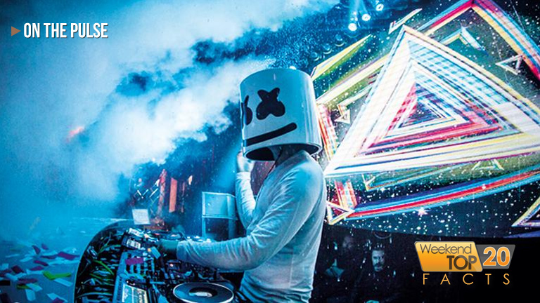 "Marshmello reveals how many hours he and Anne-Marie made the WT20 #1 hit ""Friends"""
