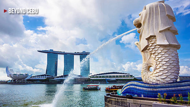 The Origin of the Merlion