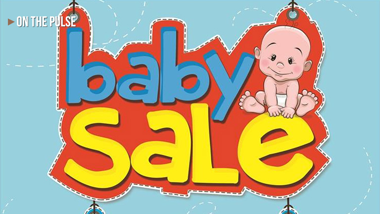 50% Off Baby Salea at SM