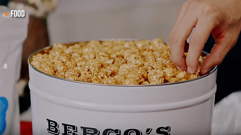Gold-Coated Billion Dollar Popcorn