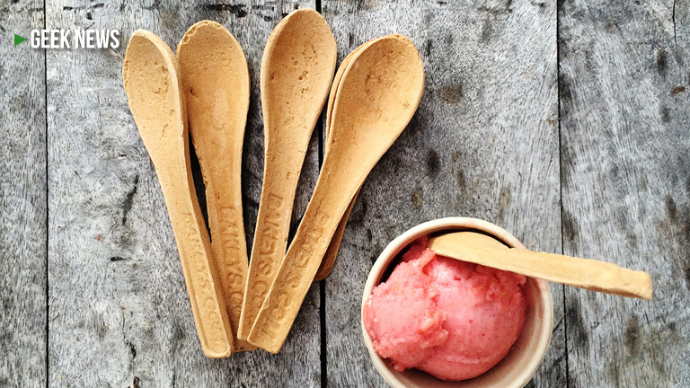 #EatYourSpoon Edible cutlery