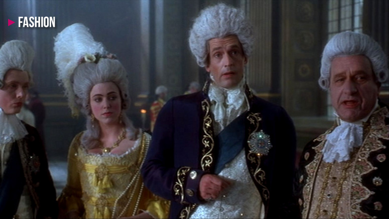 ridiculous powdered wigs became a fashion trend