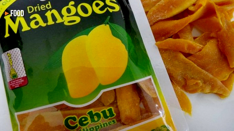 best healthy snack is Cebu's mango chips