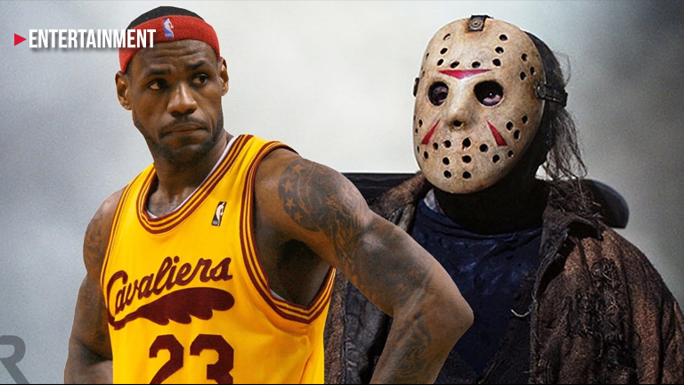 LeBron James Friday the 13th movie