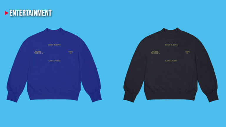 Kanye West dropped Jesus is King merch