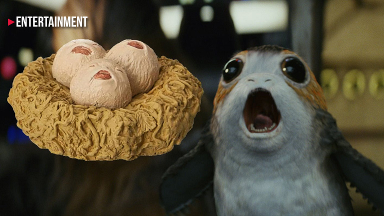 Star Wars: The Last Jedi porgs